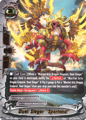Duel Sieger Quot Spartand Quot Future Card Buddyfight Wiki