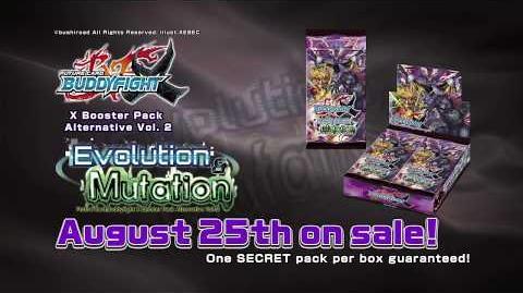 Future Card Buddyfight X Booster Pack Alternative Vol