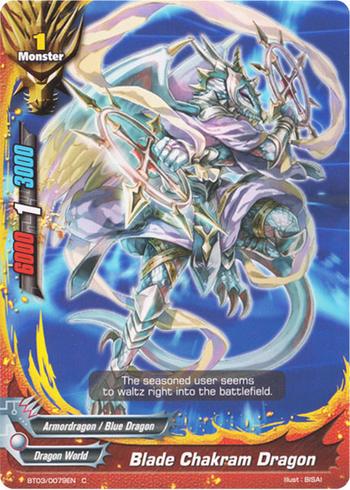 Blade Chakram Dragon