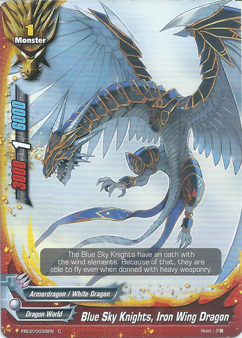 Blue Sky Knights, Iron Wing Dragon