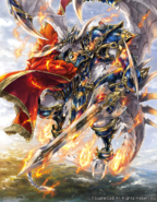 Purgatory Knights Liberator, Orcus Sword Dragon Art