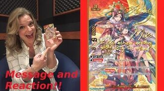 Reaction and Message from Lauren Woods (Voice Actor of Miko Mikono)