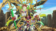Turbulent Warlord Dragon, Barlbatzz Dragoroyale & Thunder Empire Monsters