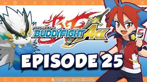 Episode 25 Future Card Buddyfight Ace Animation
