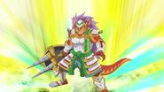Fifth Omni Cavalry Dragon, Light Rim Alliot (Anime-100-NC)
