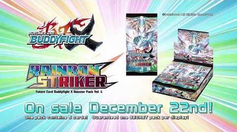 Future Card Buddyfight X Booster Pack Vol. 4 Rainbow Striker