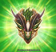 Deity Green Dragon Shield Art