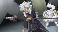 Rouga and Cerberus battle ready