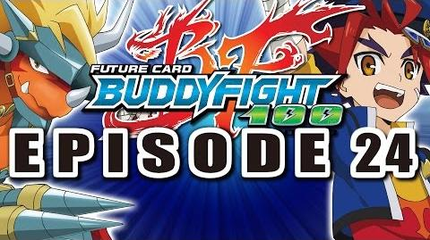 Episode 24 Future Card Buddyfight Hundred Animation