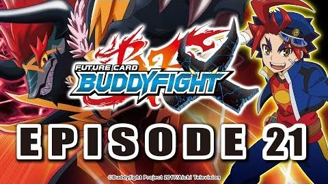 Episode 21 Future Card Buddyfight X Animation