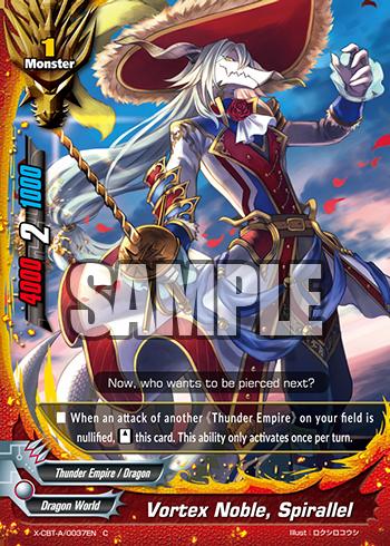 Vortex Noble Spirallel Future Card Buddyfight Wiki Fandom