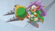 Fifth Omni Cavalry Dragon, Light Rim Alliot (Mini Form)