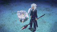 Rouga and Cerberus looking