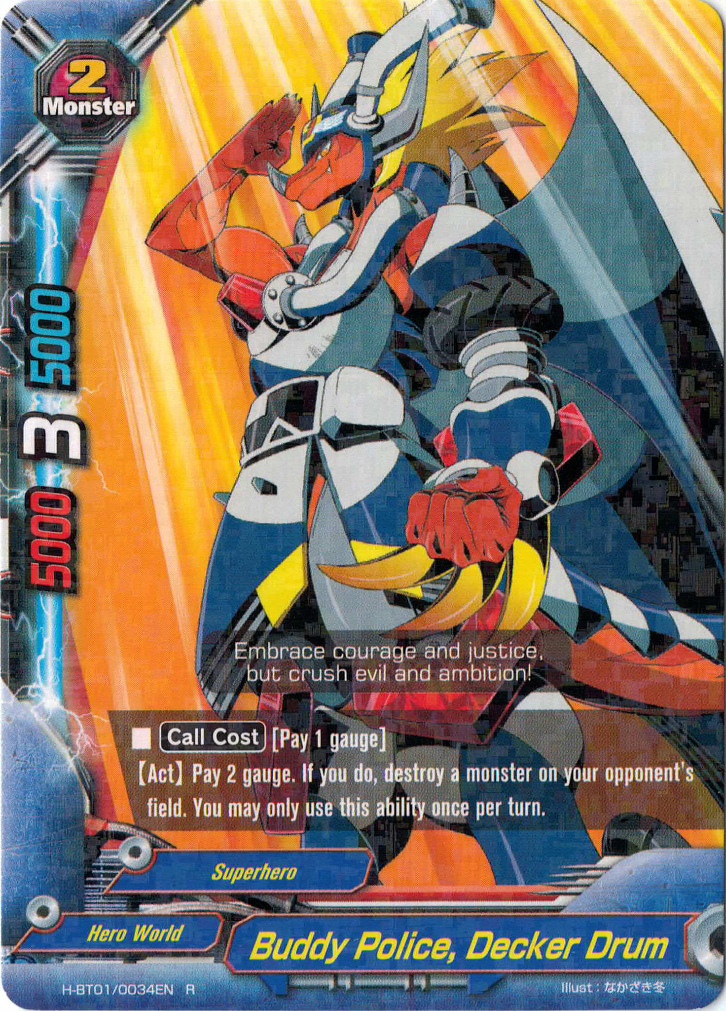 buddy police decker drum future card buddyfight wiki fandom