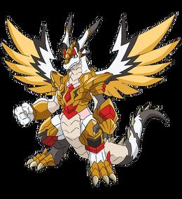 Saint Holy Sword Dragon Full Body
