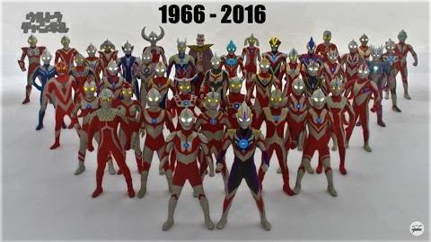 All Ultraman Transformations (1966-2016)