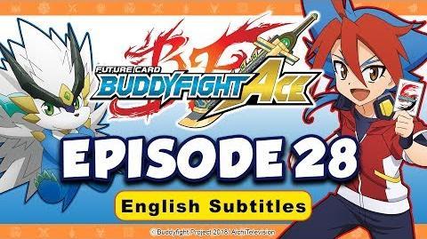 Sub Episode 28 Future Card Buddyfight Ace Animation