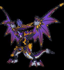 Annihilation Black Death Dragon, Abygale Full Body