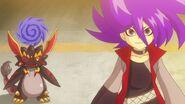 Gaito smiles at Kyoya