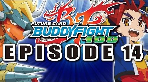 Episode 14 Future Card Buddyfight Hundred Animation