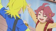 Hanako's friendlness to Noboru