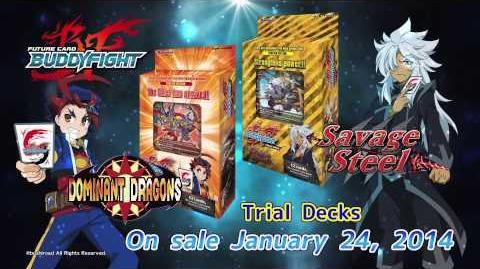 Future Card Buddyfight TVC TD01-02 BT01-0