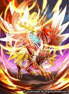 Blazehorn Dragon Art