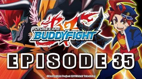 Episode 35 Future Card Buddyfight X Animation