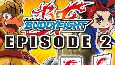 Episode 2 Future Card Buddyfight Animation