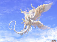 Anima Angelus dragon by Wen M