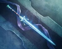 The Demon slyaing blade of justice
