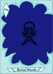 Burial World (flag)
