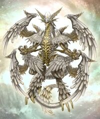 Holy white dragon