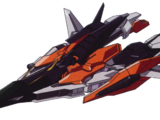 Gundam Kyrios(Fighter Mode)