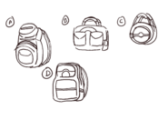BDDY5bags for the main chara