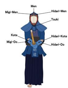 Targets kendo