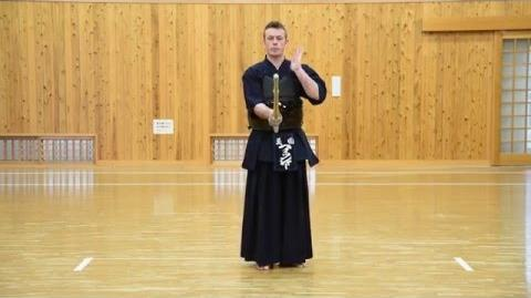 Kendo Basics Fighting Stance, or Kamae and Sonkyo - The Kendo Show