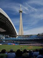 Rogers Center and CN Tower