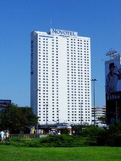 Warszawa - Hotel Novotel