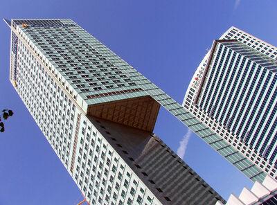 Warsaw modern buildings