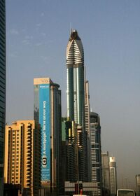 Rose Rotana Tower Under Construction on 12 May 2007 Pict 2