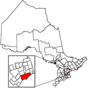 Toronto Location in Ontario