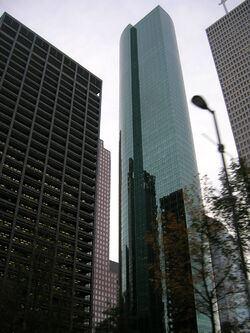 Wells Fargo Bank Plaza, Houston, from base
