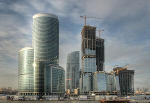 Moskiewskie centrum finansowe, 2008