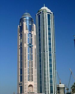 Emirates Marina Hotel & Residence and Emirates Crown on 20 December 2007