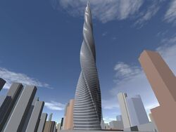 Chicago Spire early project