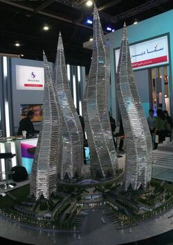 Dubai Towers Dubai Model Pict 1