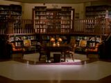 Sunnydale High School library