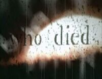 Buffy title sequence 'who died' (seasons 1-2)