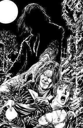 Angel vs Frankenstein RI cover